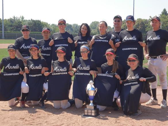 Annette - COGBL Champions 2012