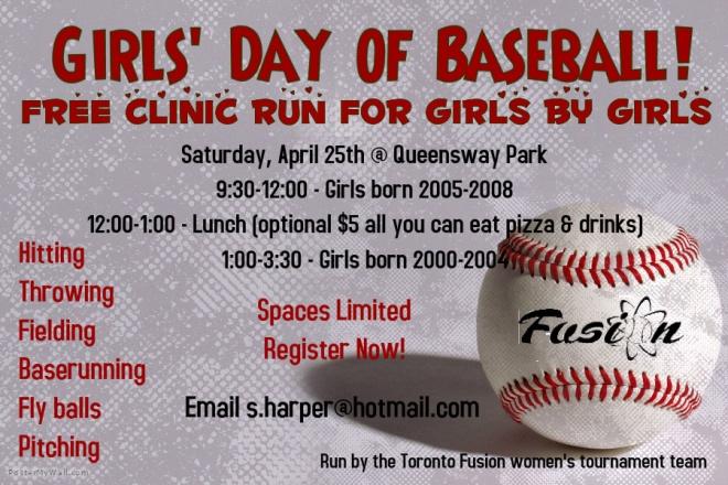 girls day of baseball